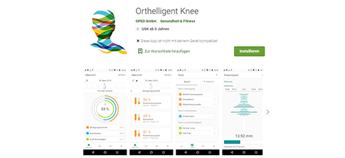 Orthelligent Knee - App im Google Play Store