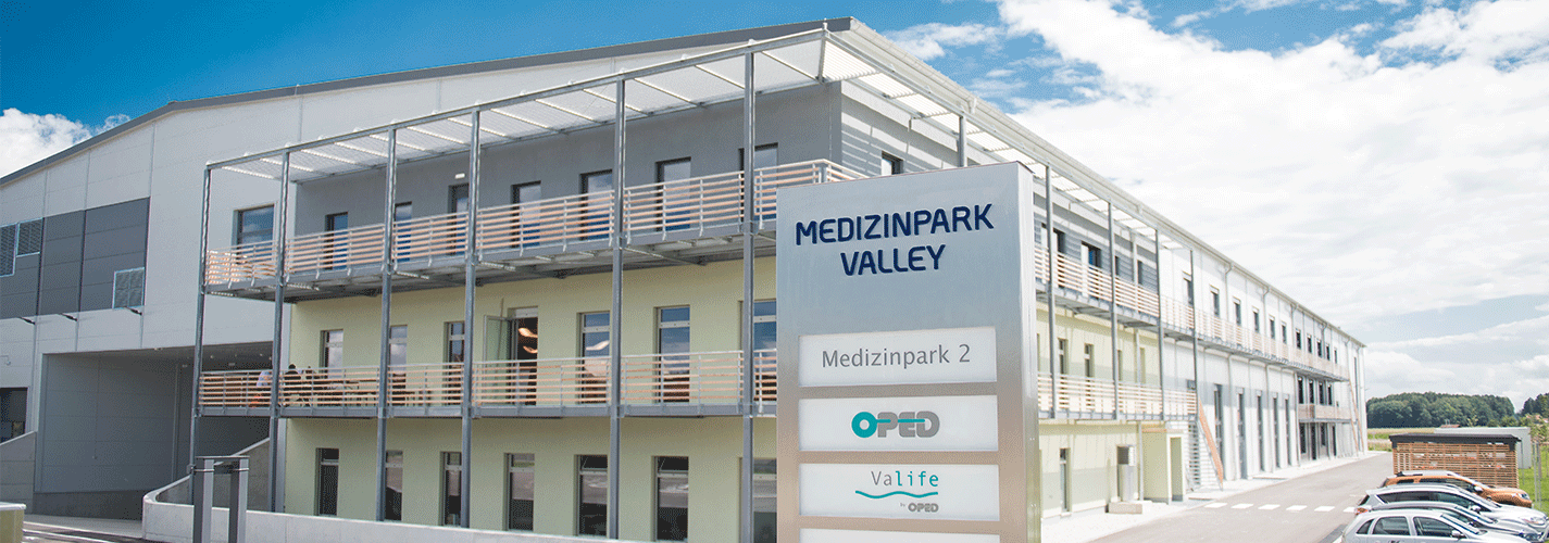OPED Gmbh Valley Medizinpark 2 neue Produktionshalle